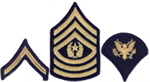 Enlisted Dress Blue Rank