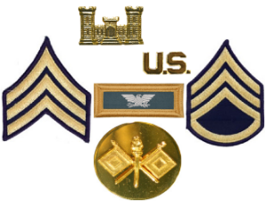 Dress Blue Uniform Insignia