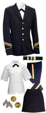 Female Dress Blue (ASU) Uniforms