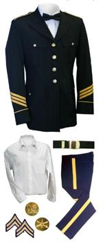 Male Dress Blue (ASU) Uniforms